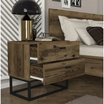 Bedside table-chest